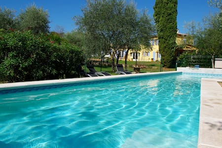 B & B in Provence, pool - Callian