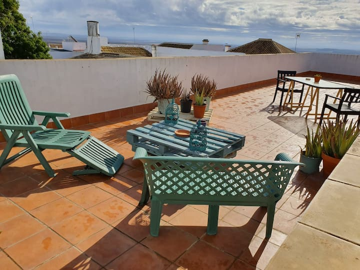 Live the Sevillana countryside - Terrace and 3 BR