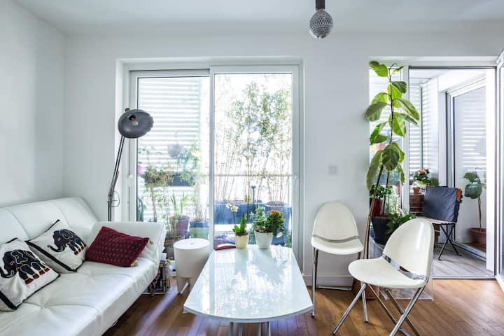 Charming apartment in Paris for 2