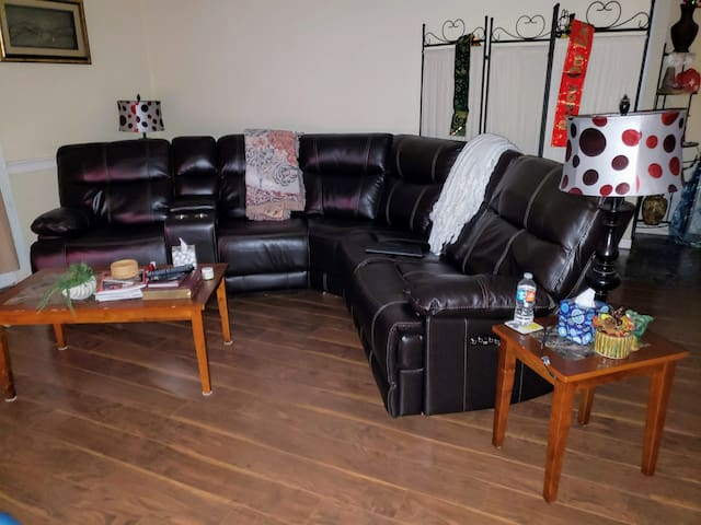 Living room area, shared space