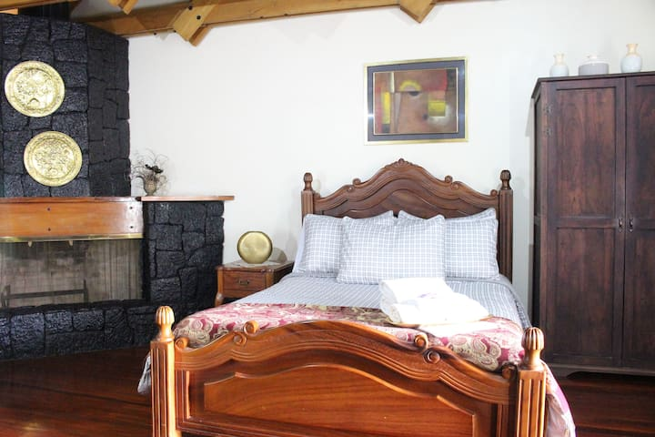Suite with Balcony and Fireplace in Cartago.