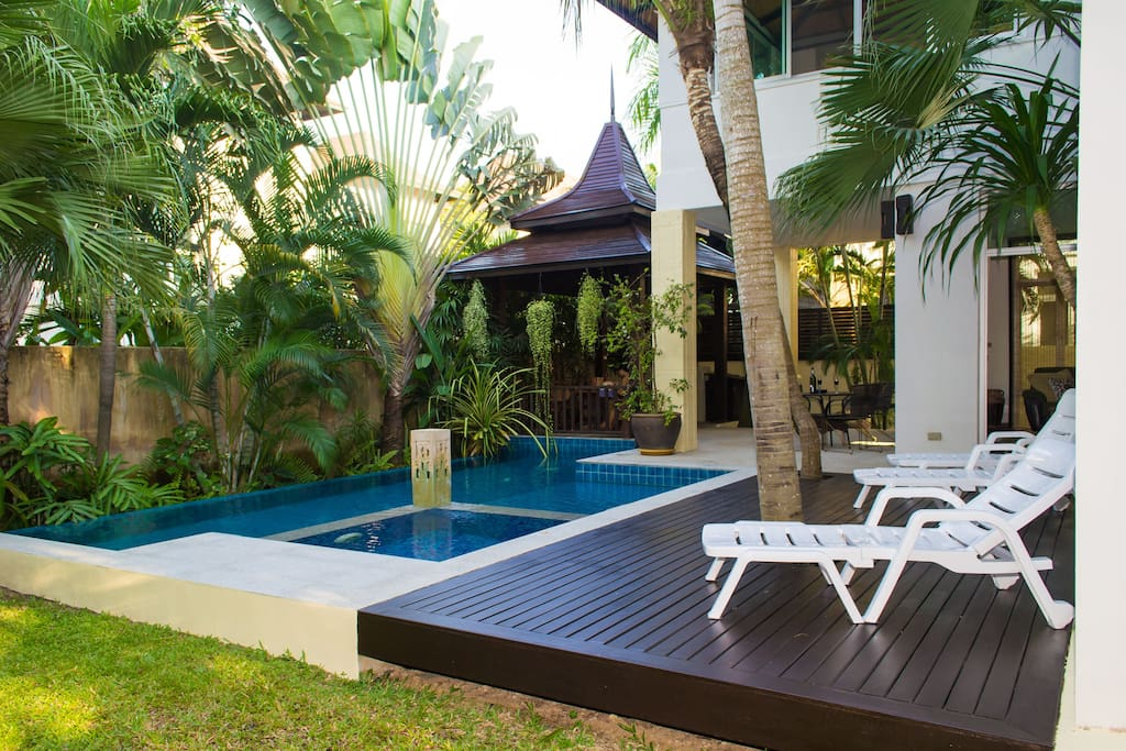 Relax by your private pool