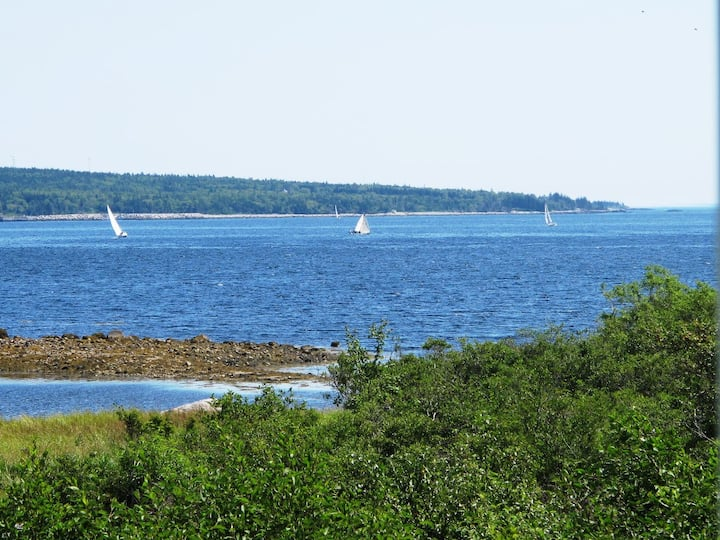 Shipwrights Cottage ~ Shelburne Harbour Views