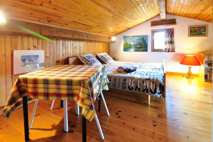 Cosy and independent nest in villa - Dargoire - Loft