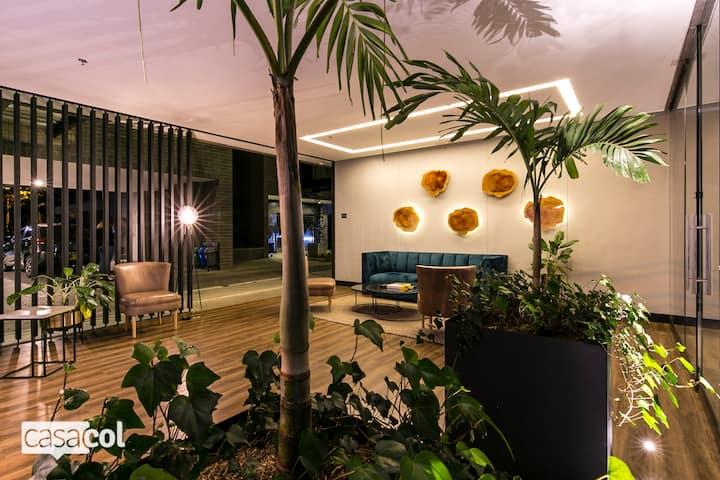 503 ★Loma Verde★NEW super modern building, AC✅
