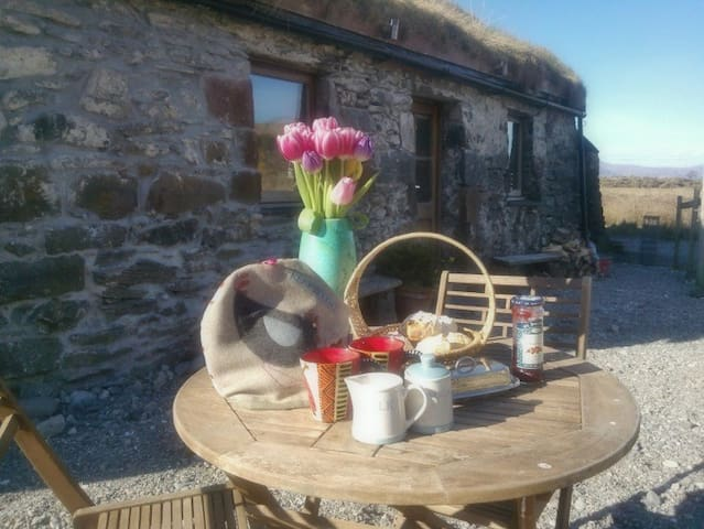 Crofting cottage, Island of Lismore - Oban - 一軒家