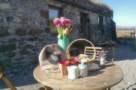 Crofting cottage, Island of Lismore - Oban - Casa