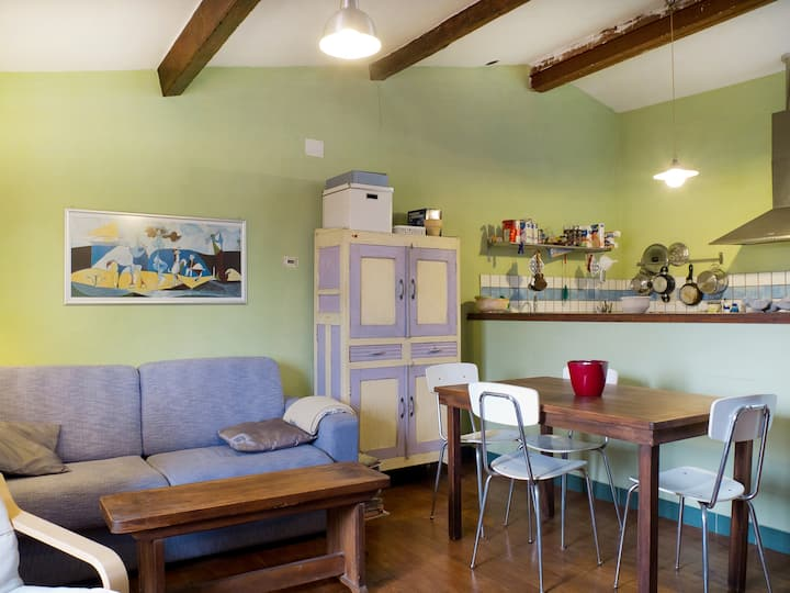 cosy apartment 2 min from the sea