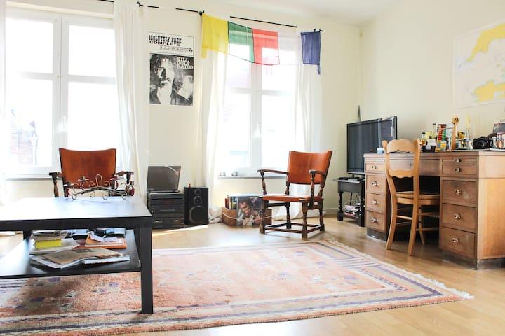 Cozy two floor flat near city park - Bruges - Apartment