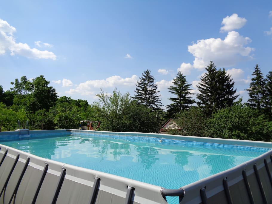 Come and try our new pool with a view of Tranquil Pines