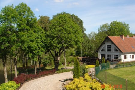 PRIVATE and EXCLUSIVE LAKE HOUSE - Mrągowo County - Huvila