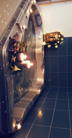 Chambre jacuzzi romantique privatif