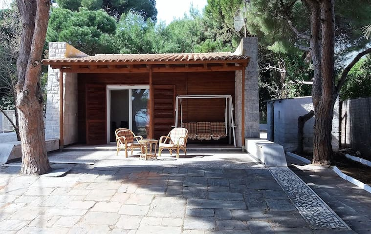 Summer house ELENA VIEW 50m. from the beach. - Nea Makri - House