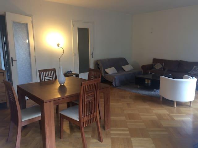 Grande chambre privée proche métro Jean Macé - Lyon-7E-Arrondissement - Lägenhet