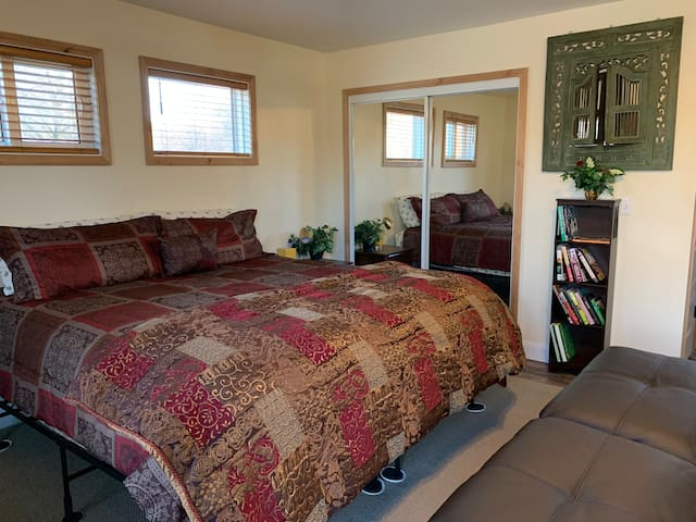 Kingsize comfort on very accommodating beds