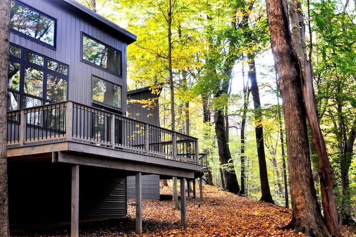 """THE MOON"" -  Creek Ridge Cabins at Lexington"