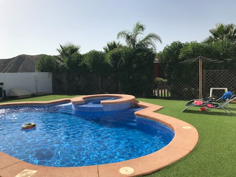 Villa in Spain with private swimming pool &Jacuzzi
