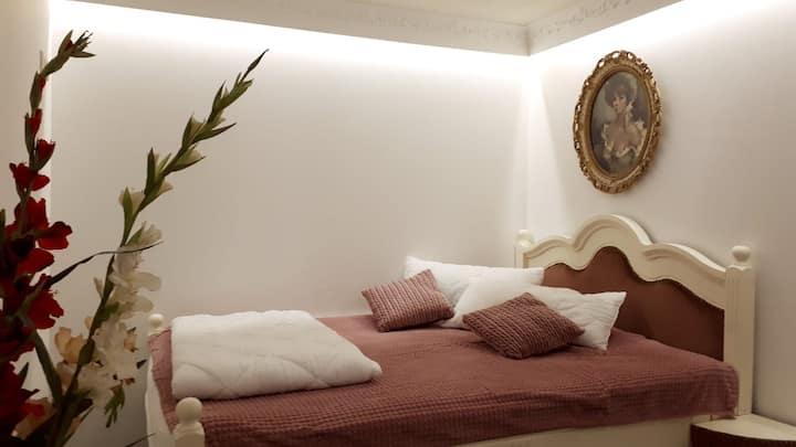 Neu renoviertes Zimmer im Stil des Barock