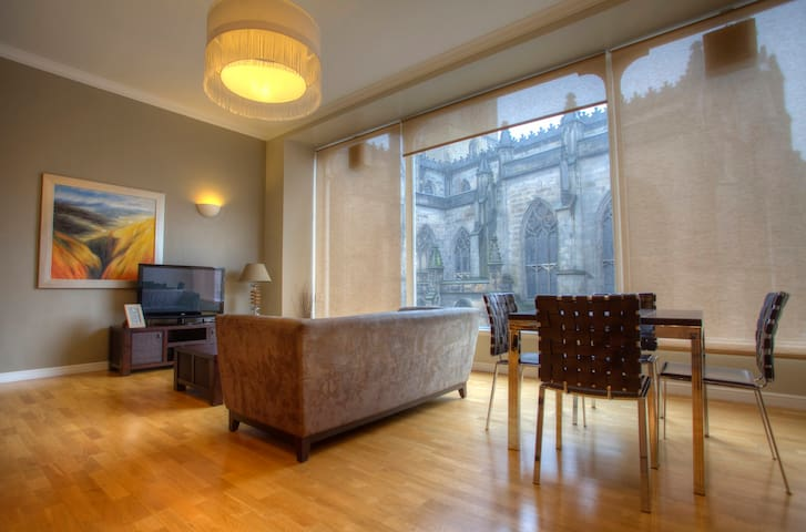 VieAmhor St Giles 2 bedroom for 5  - Edynburg