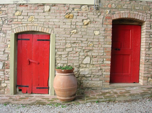 Organic farm + free Florence - Montaione - Appartement