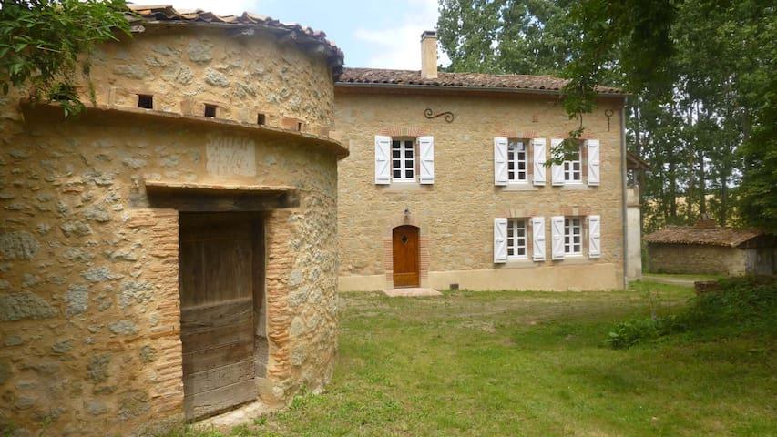 Maison de caractère en Pays de Cocagne - Saint Paul Cap de Joux - House