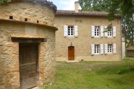 Maison de caractère en Pays de Cocagne - Saint Paul Cap de Joux - Casa