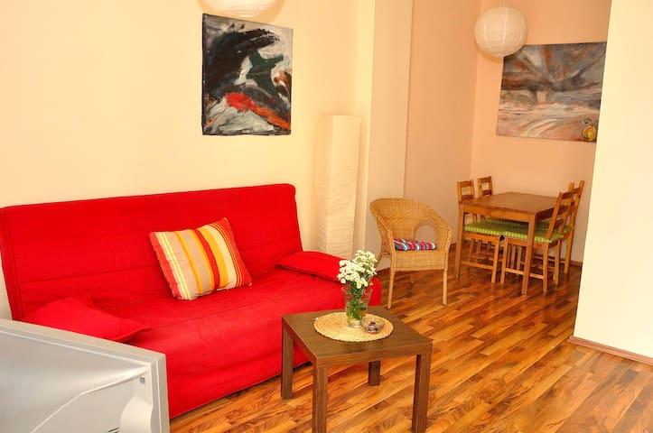 Apartment Neustadt-central & inexpe
