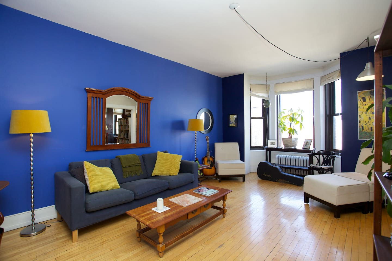 Beautiful Big Living Room