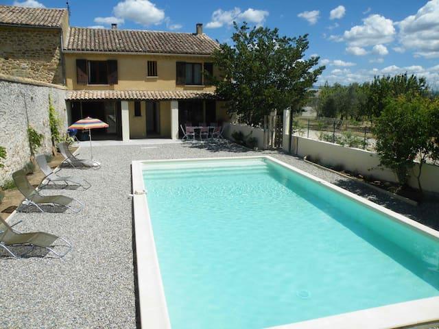Luxury villa in Provence with Private Pool - Sainte-Cécile-les-Vignes - Casa