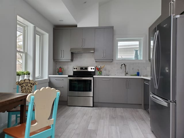 New 2 Bd apartment steps from subway and High Park