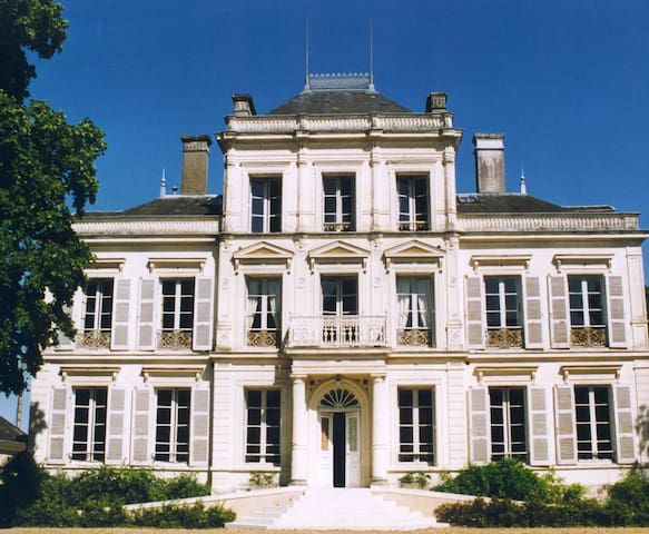 French Castle, 19th Century  - La Bruère-sur-Loir