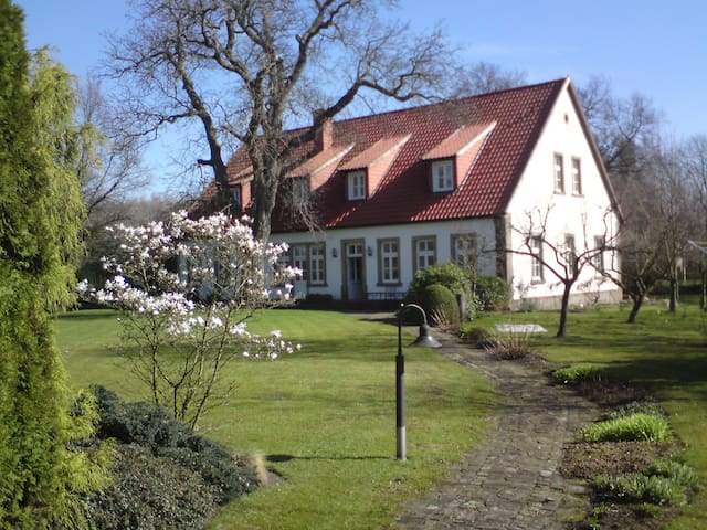 Historic Farm House in Countryside - Mettingen - Casa
