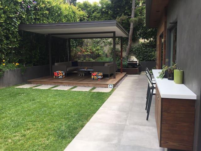 Cali Modern Garden Retreat - Pacific Palisades - Casa