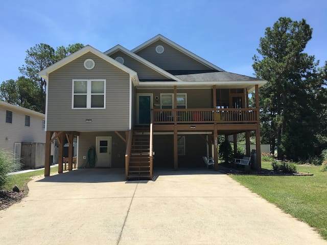 OBX house for rent -pool-sleep 8-10