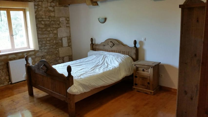 Double room in barn conversion.