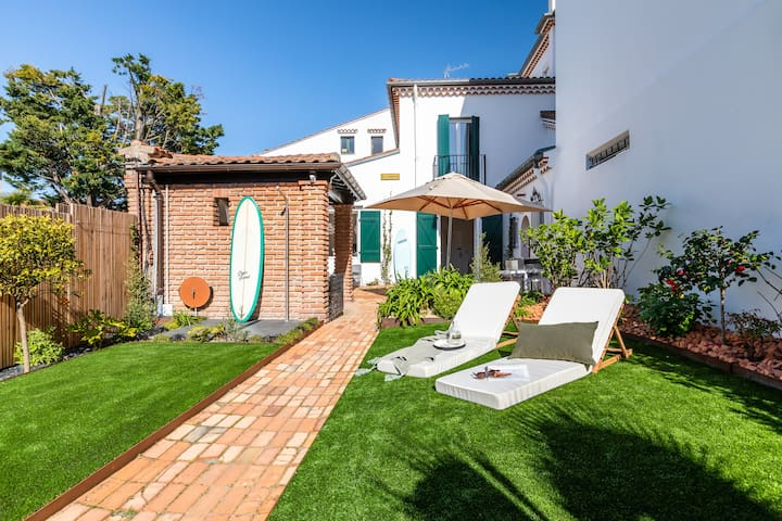 Gorgeous 1920's house with garden and hammam - Biarritz city centre