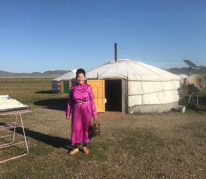 MONGOLIAN YURTS, MILK VODKAS, HORSE RIDING