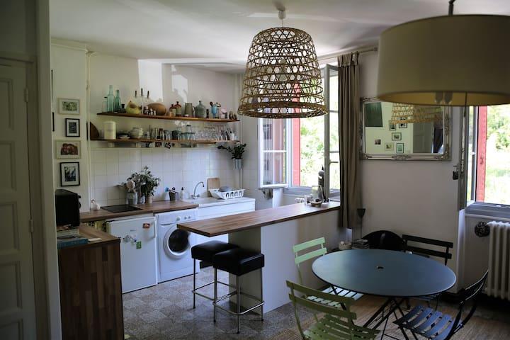 Petit appartement cosy et douillet - Nantua - Appartement