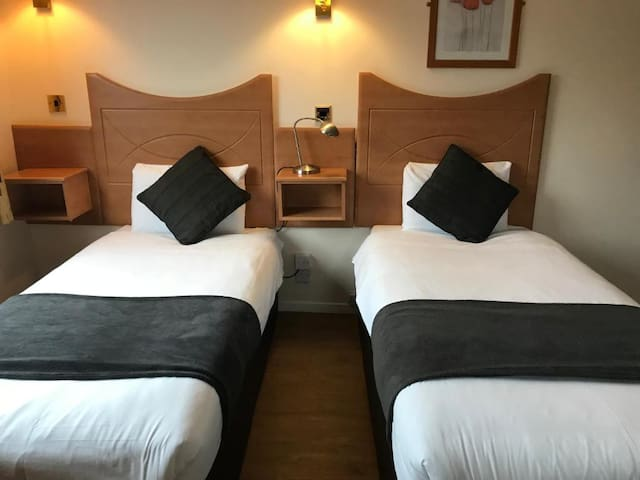 Cosy Twin Rooms in the heart of Jesmond