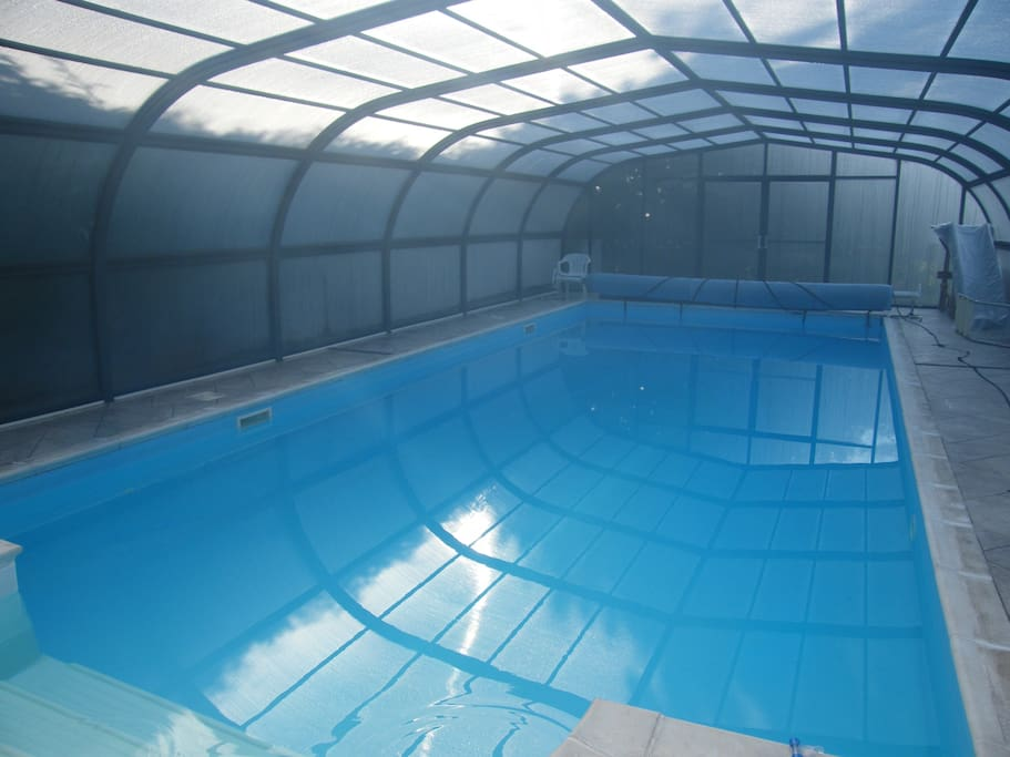 Pool 38ft by 16ft available in season with permission.