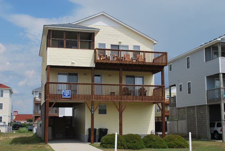 6195 The Stowaway * 6 Min Walk to the Beach * Pool & Hot Tub
