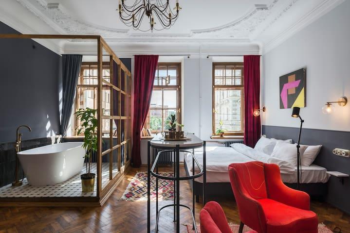 Sands Rooms. Исторические апартаменты Abondance
