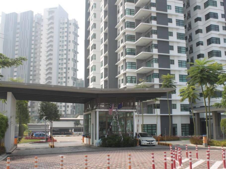 Ujana Apartment Main Entrance