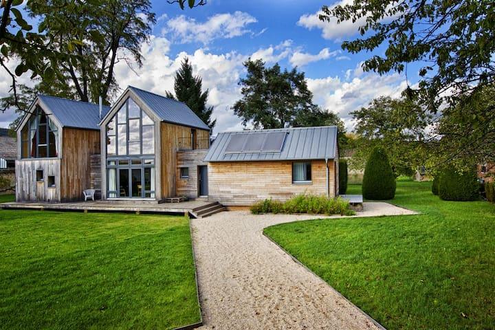 Maison écologique en Bourgogne - Puligny-Montrachet - Dům v zemi