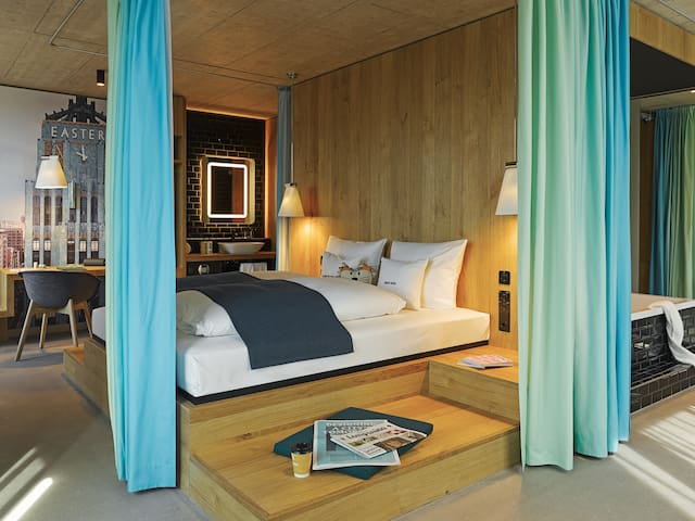 Plaza-Suite im 25hours Langstrasse