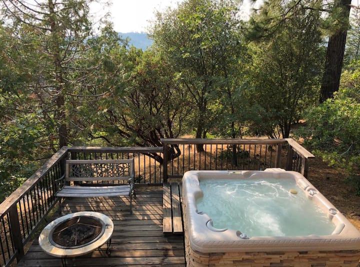 Enjoy a Hot Tub at Westview B&B near Yosemite