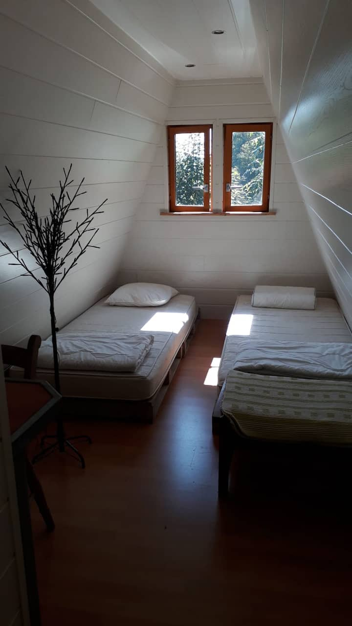 Eco Villa : nice room for 4 persons