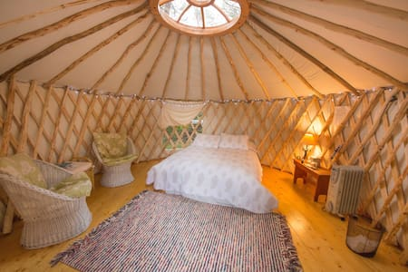 Rusticator House, Yurt. - Trenton