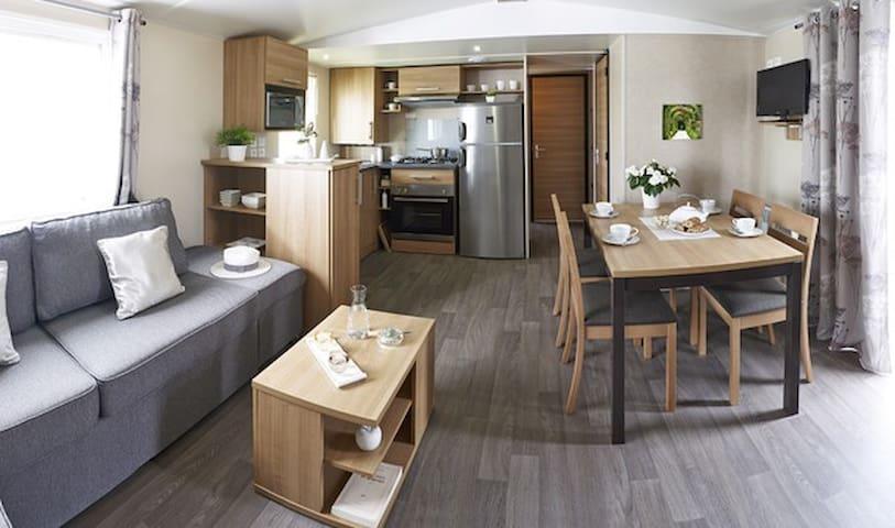 MOBIL HOME BASSE NORMANDIE (BAYEUX / SAINT LO) - Litteau - Bungalow