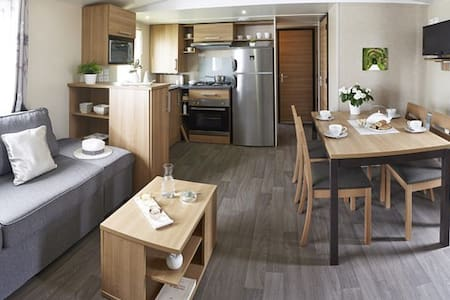MOBIL HOME BASSE NORMANDIE (BAYEUX / SAINT LO) - Litteau - Cabana